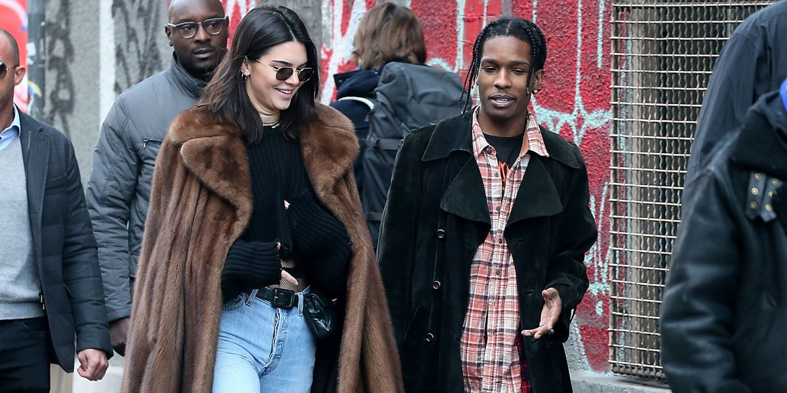 Kendall Jenner and A$AP Rocky Explore Paris Together