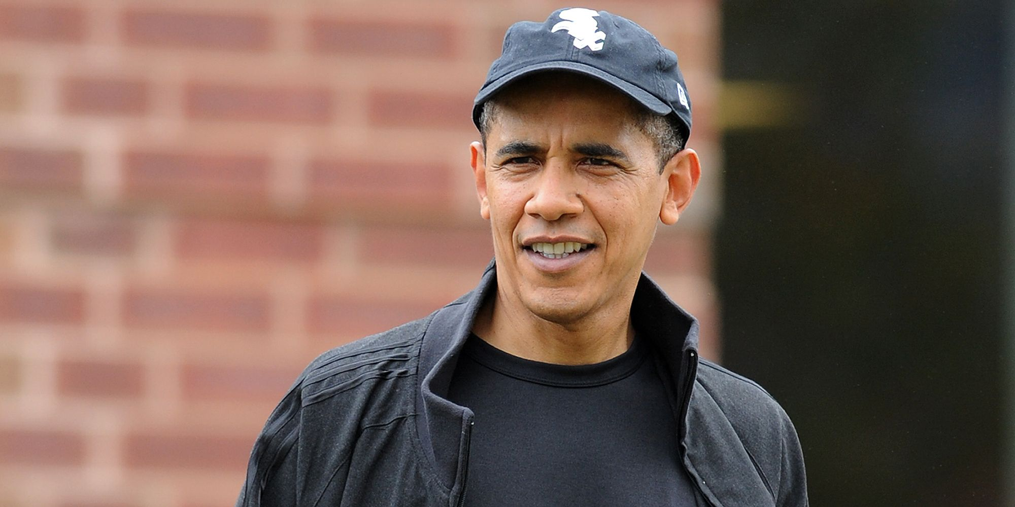 Barack Obama Is Chilling Out And Wearing His Hat Backwards On Vacation