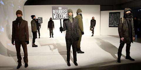 Footwear, Leg, Sleeve, Trousers, Coat, Standing, Outerwear, Jacket, Blazer, Fashion,