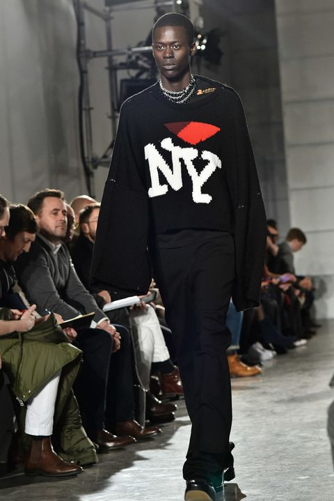 Raf Simons Seems Really Excited To Show In New York Raf Simons