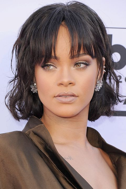 15 Best Hairstyles With Bangs Chic Celebrity Bang