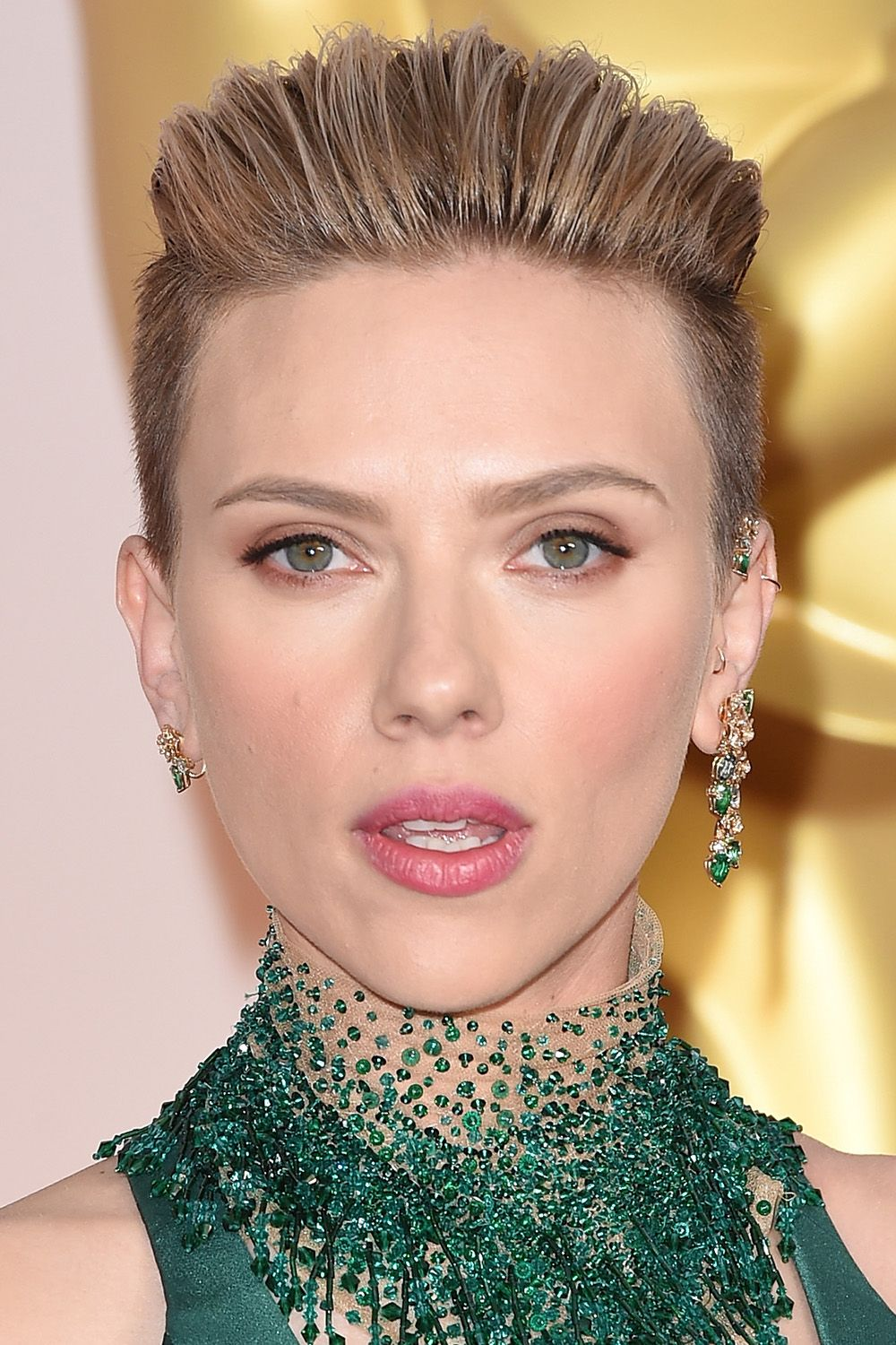 "<p>An edgy undercut still looks feminine when the color is soft. Plus, caramel tones make Scarlett Johansson's green eyes pop. <span class=""redactor-invisible-space"" data-verified=""redactor"" data-redactor-tag=""span"" data-redactor-class=""redactor-invisible-space""></span></p>"