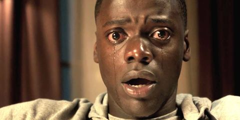 "<p>          <i data-redactor-tag=""i"">Get Out</i> is a horror flick that tackles one of scariest truths plaguing our society: racism. A fearless political statement charading as a survival tale, first-time director Jordan Peele&nbsp;of&nbsp;<em data-verified=""redactor"" data-redactor-tag=""em"">Key &amp; Peele</em><span class=""redactor-invisible-space""> fame&nbsp;</span>delivers a brilliant concept about a mixed-raced couple who head into a den of unhinged, elite&nbsp;liberals. <i data-redactor-tag=""i"">Girls</i>' Allison Wilson and <i data-redactor-tag=""i"">Black Mirror's</i> Daniel Kaluuya star.</p><p><em data-redactor-tag=""em"">In&nbsp;theaters February 24</em><span class=""redactor-invisible-space""></span><br></p>"