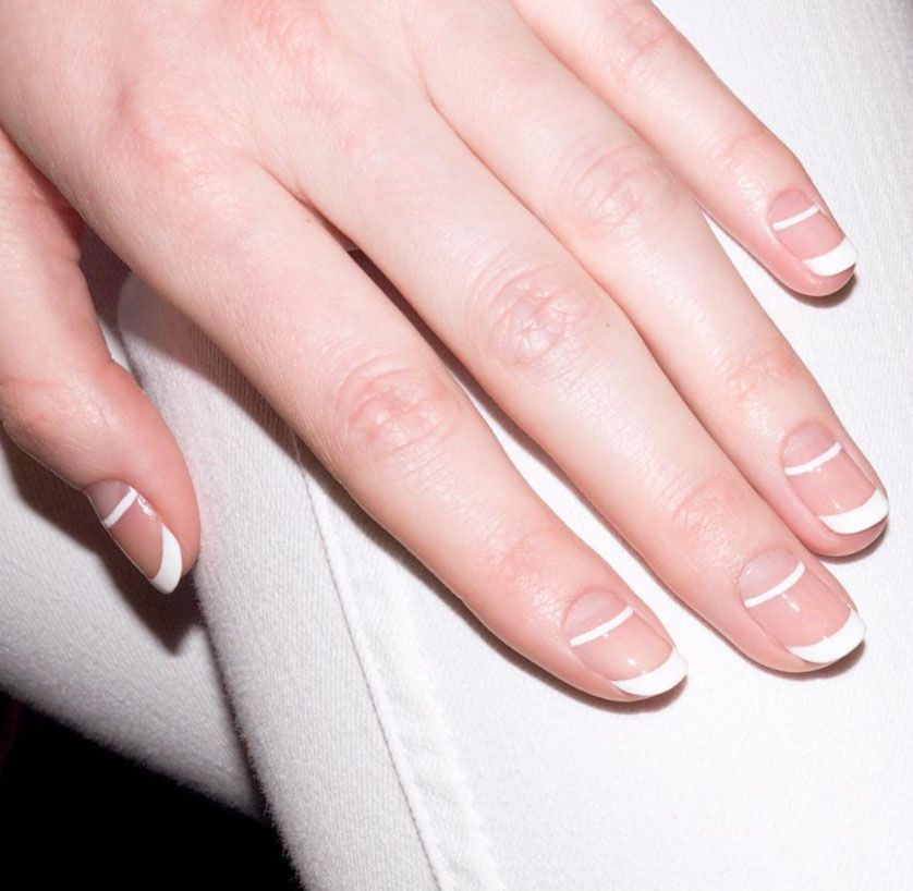 Best french manicure designs how to update a french manicure urmus Choice Image