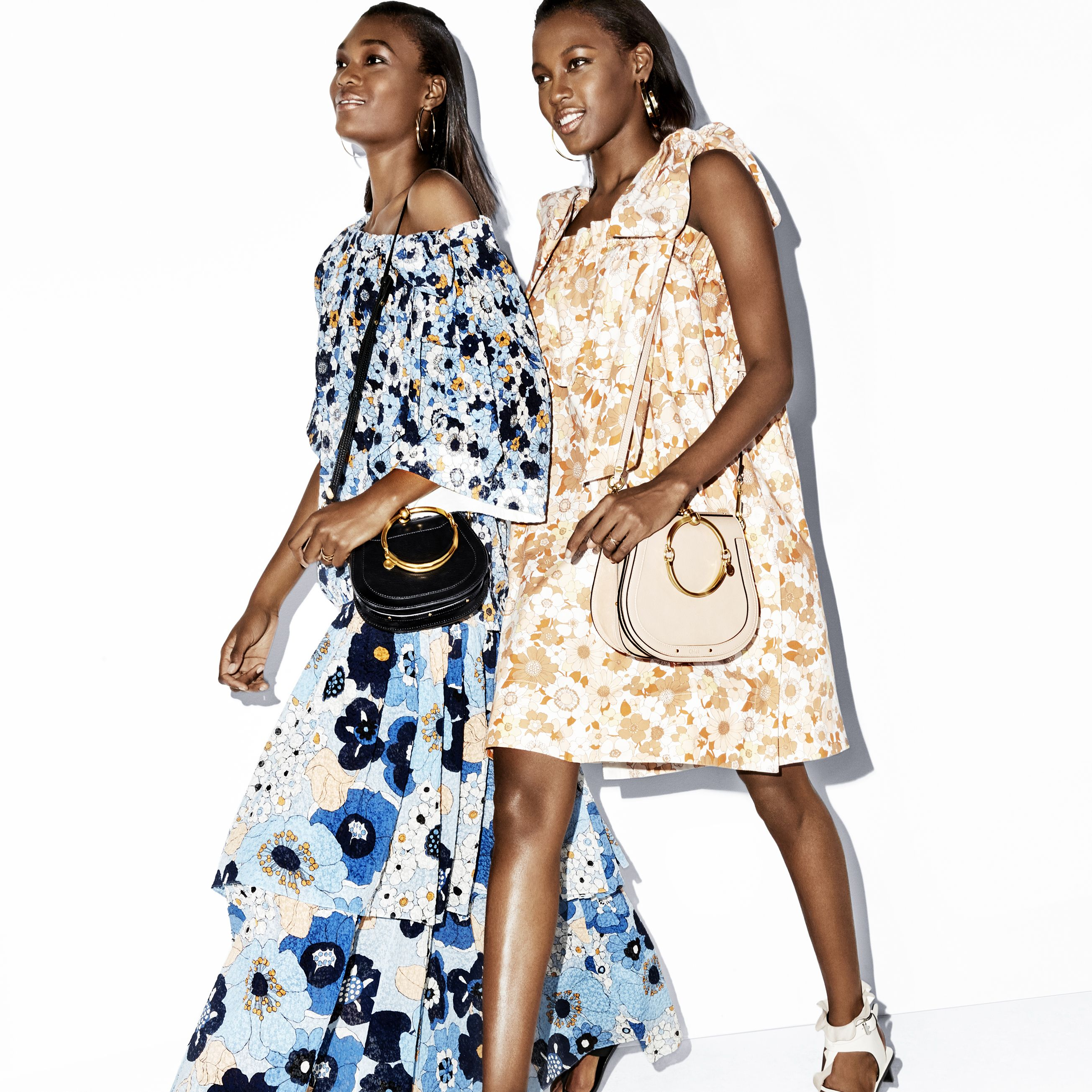 "<p>On Naki (left):&nbsp&#x3B;<strong data-redactor-tag=""strong"" data-verified=""redactor"">Chloé</strong> top, $1,395, skirt, $2,395, and bag, $1,550&#x3B;&nbsp&#x3B;<strong data-redactor-tag=""strong"" data-verified=""redactor"">Jennifer Fisher</strong> earrings, $295–$365&#x3B;&nbsp&#x3B;<strong data-redactor-tag=""strong"" data-verified=""redactor"">Isabel Marant </strong>sandals, $765.&nbsp&#x3B;On Kai:&nbsp&#x3B;<strong data-redactor-tag=""strong"" data-verified=""redactor"">Chloé </strong>dress, $1,595, and bag, $1,690&#x3B;&nbsp&#x3B;<strong data-redactor-tag=""strong"" data-verified=""redactor"">Jennifer Fisher </strong>earrings, $295–$365&#x3B;&nbsp&#x3B;<strong data-redactor-tag=""strong"" data-verified=""redactor"">Isabel Marant </strong>sandals, $1,005, all items&nbsp&#x3B;available at <a href=""https://shop.harpersbazaar.com/"" target=""_blank"" data-tracking-id=""recirc-text-link"">shopBAZAAR.com</a>.<span class=""redactor-invisible-space"" data-verified=""redactor"" data-redactor-tag=""span"" data-redactor-class=""redactor-invisible-space""></span></p>"
