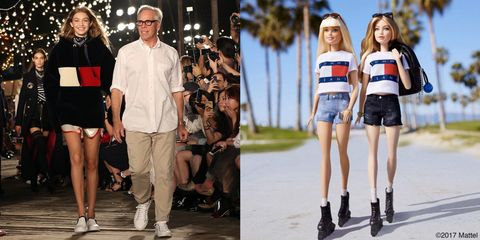 4b45723531521 Gigi Hadid Gets Her Own Barbie for Her Second Collection with Tommy Hilfiger