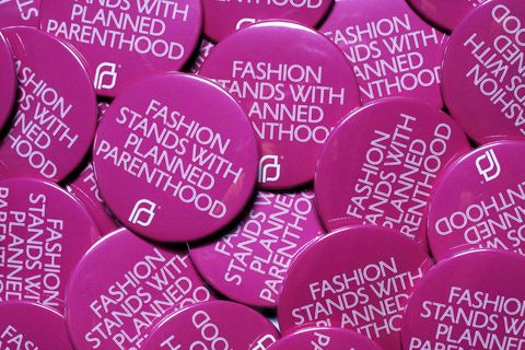 "<p>Let's face it, fashion is largely for women and the CFDA is standing by its ladies. The Council of Fashion Designers of America has&nbsp;partnered with Planned Parenthood to launch Fashion Stands with Planned Parenthood, ""a promotional initiative that capitalizes on New York Fashion Week's global reach to raise awareness and funds for Planned Parenthood's important efforts.""</p><p>The CFDA designed a special pink&nbsp;pin for CFDA Members and supporters to use during their Fashion Week shows and presentations—it's <strong data-redactor-tag=""strong"" data-verified=""redactor""><em data-redactor-tag=""em"" data-verified=""redactor"">the</em></strong> accessory of the week.&nbsp;</p>"