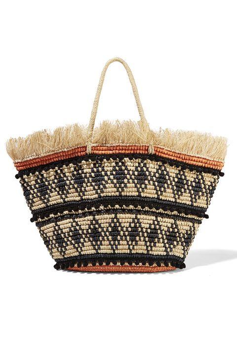 Brown, Wicker, Basket, Home accessories, Bag, Beige, Storage basket, Picnic basket, Shoulder bag,