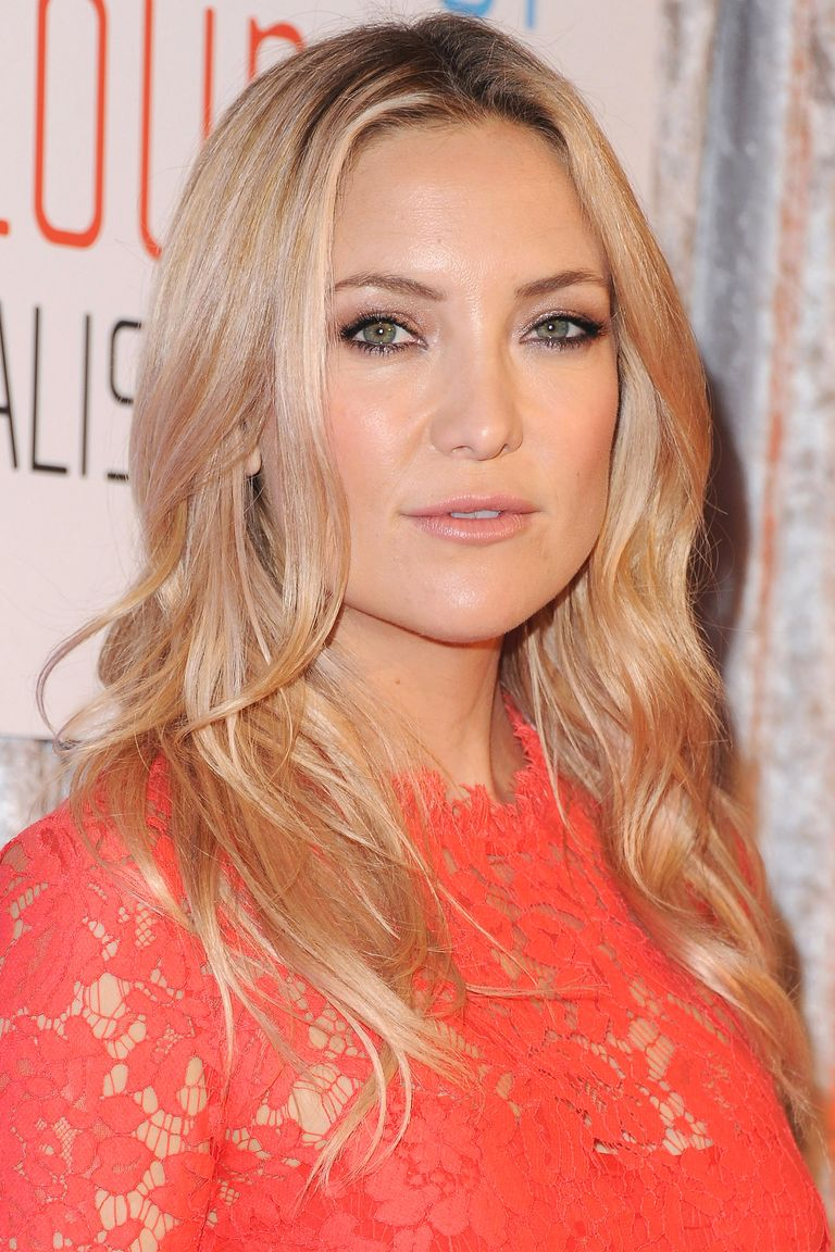 P Kate Hudson S Soft Rose Gold Glow Provides An All Over Tone That