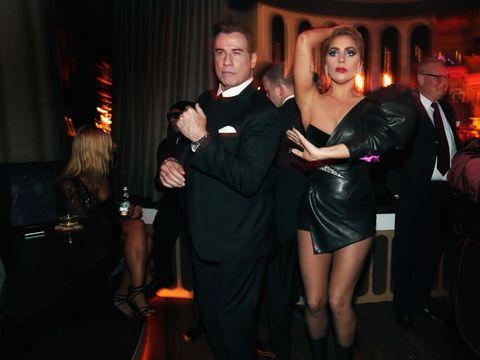 Outerwear, Dress, Coat, Suit, Little black dress, Party, Tie, Curtain, Cocktail dress, Dance,