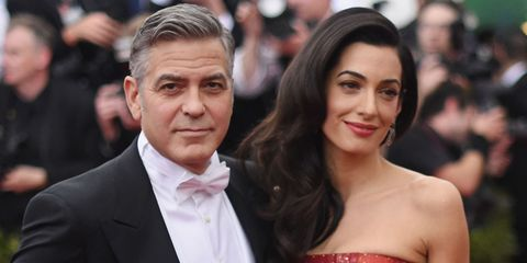 """George and Amal Clooney """"Casually"""" Revealed Their Pregnancy News"""