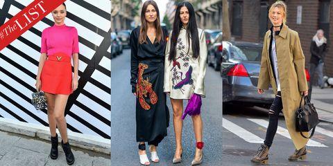 Clothing, Footwear, Leg, Textile, Outerwear, Bag, Street fashion, Style, Fashion accessory, Dress,
