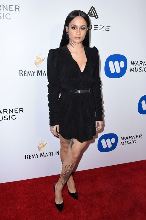 HOLLYWOOD, CA - FEBRUARY 12:  Performer Kehlani attends the Warner Music Group GRAMMY Party at Milk Studios on February 12, 2017 in Hollywood, California.  (Photo by Vivien Killilea/Getty Images)