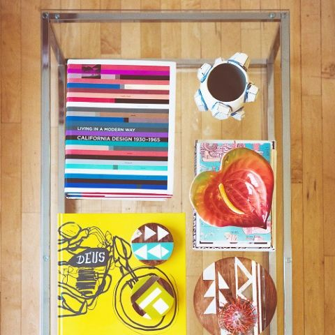 <p>We&nbsp&#x3B;know, we know, you're already styling with (and hopefully reading) coffee table books. But instead of stacking them, consider splaying them out in a neat grid and layering the rest of your pieces on top.&nbsp&#x3B;</p>