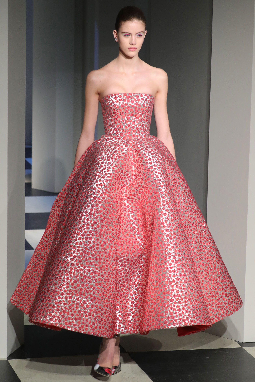 Runway style dresses