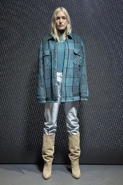 Collar, Sleeve, Textile, Outerwear, Boot, Style, Jacket, Pattern, Street fashion, Riding boot,