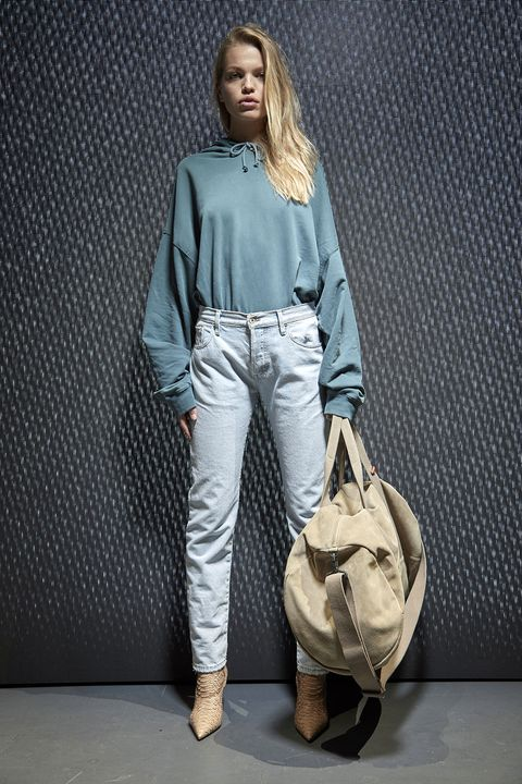Clothing, Brown, Product, Sleeve, Textile, Outerwear, Bag, Style, Denim, Street fashion,
