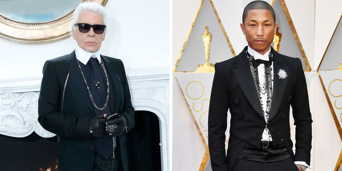 Pharrell Williams in Chanel Suit at Oscars 2017 - Pharrell ...
