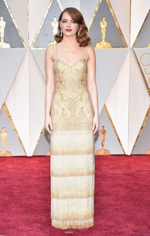 Emma Stone Wears One of Riccardo Tisci\'s Last Givenchy Designs to ...