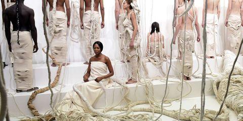 Dress, Bridal clothing, Fashion, Gown, Wedding dress, Fashion design, One-piece garment, Bride, Day dress, Costume design,