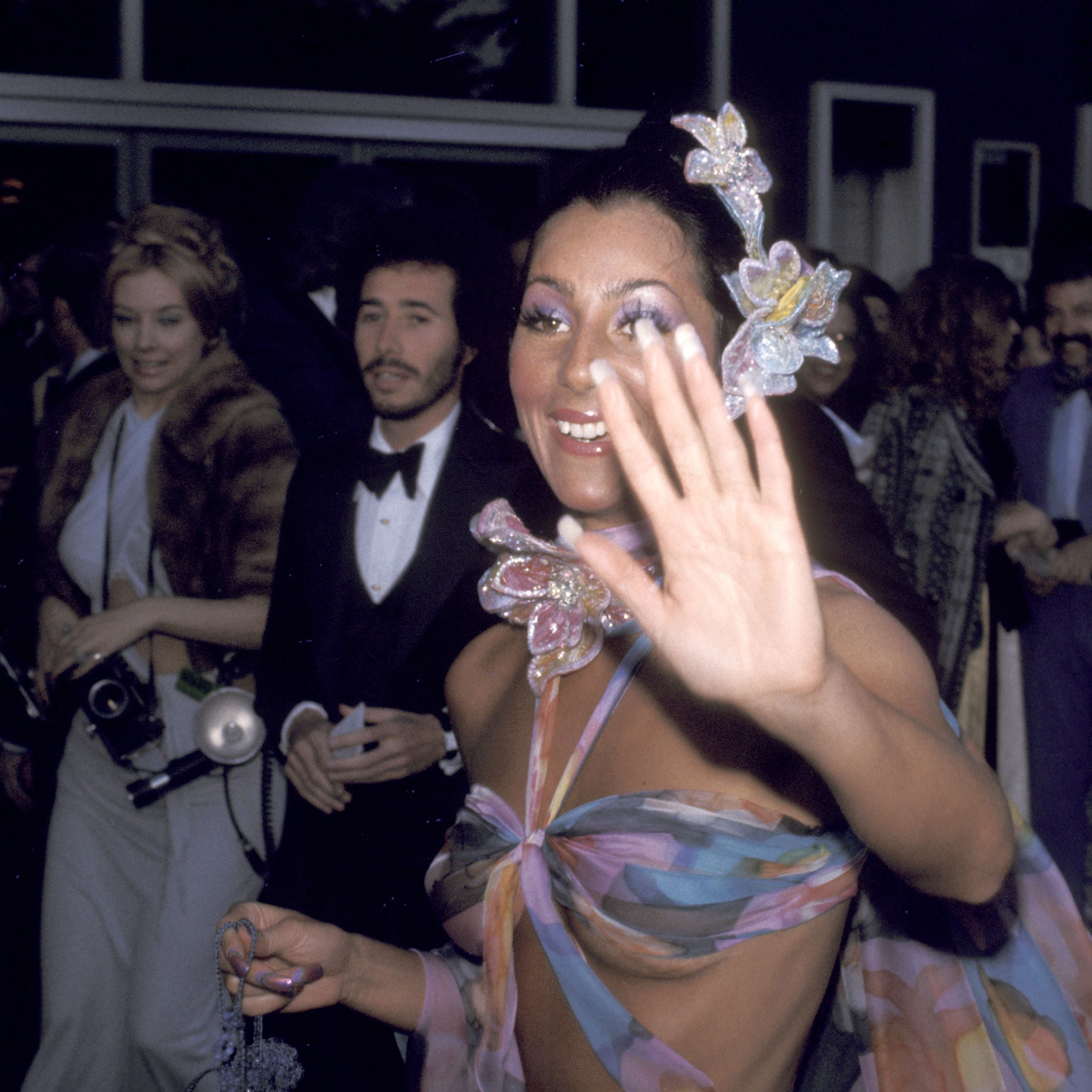 Cher during 46th Annual Academy Awards in New York City, New York, United States. (Photo by Ron Galella/WireImage)
