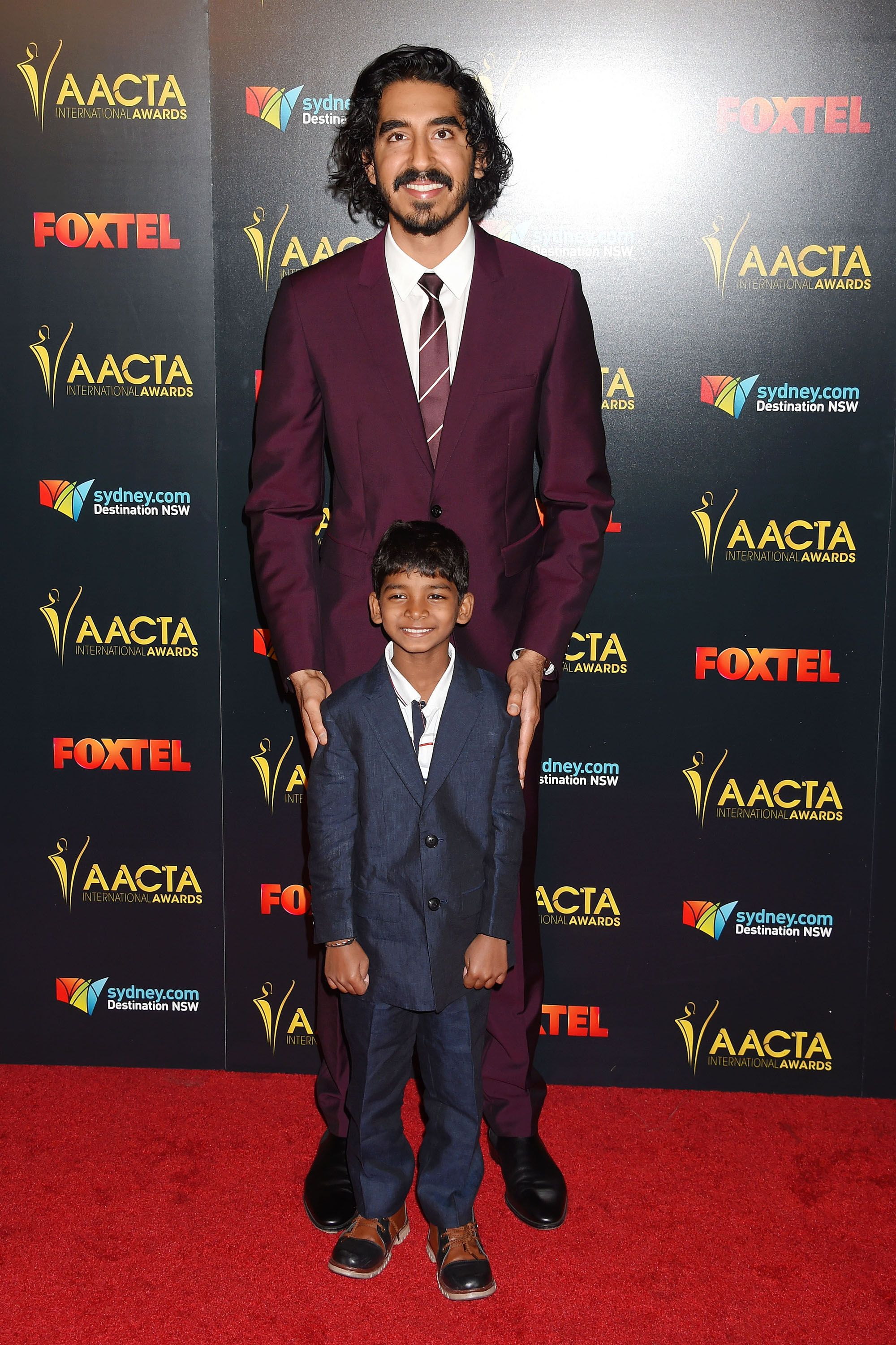 <p>At the AACTA International Awards</p>