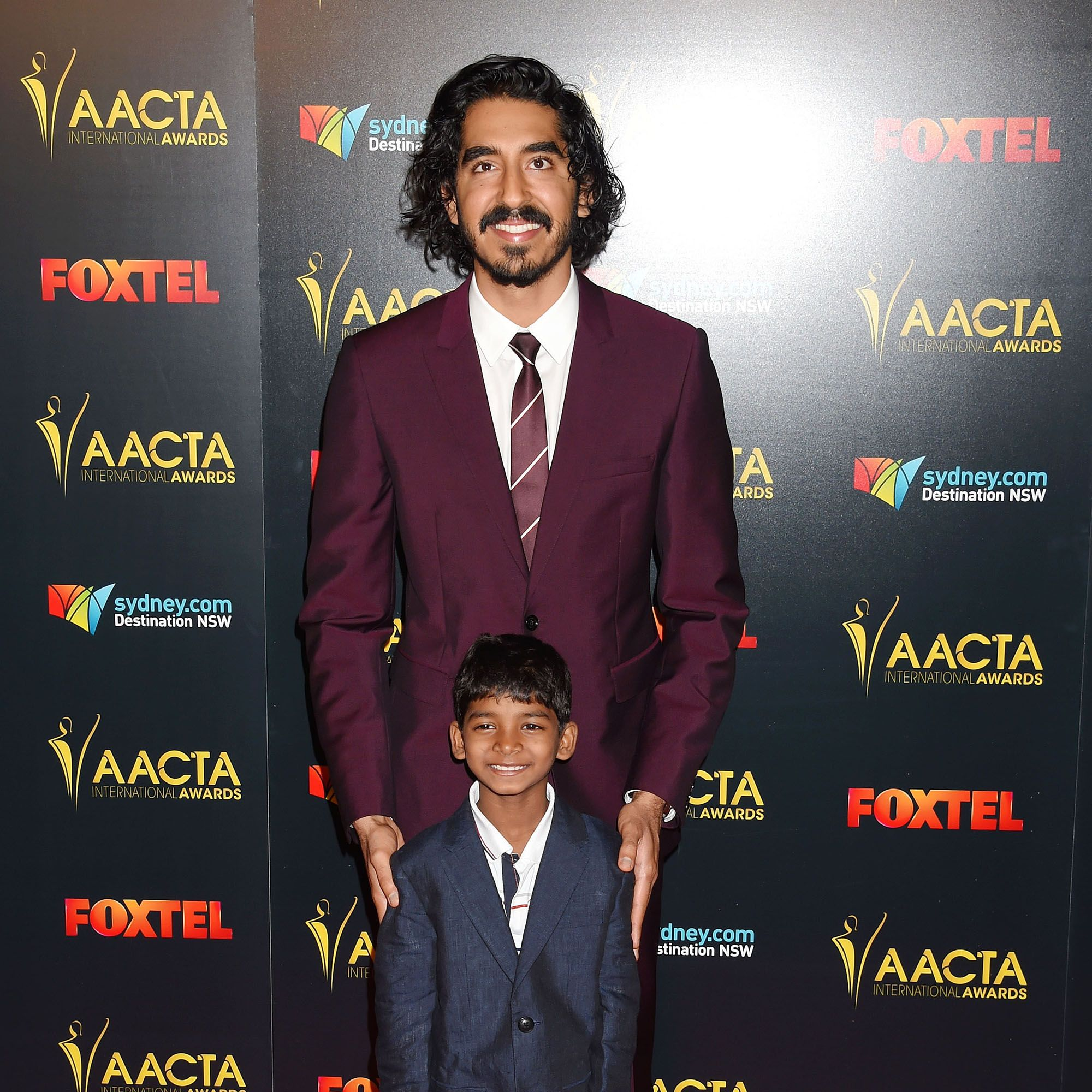 <p>At the AACTA International&nbsp&#x3B;Awards</p>