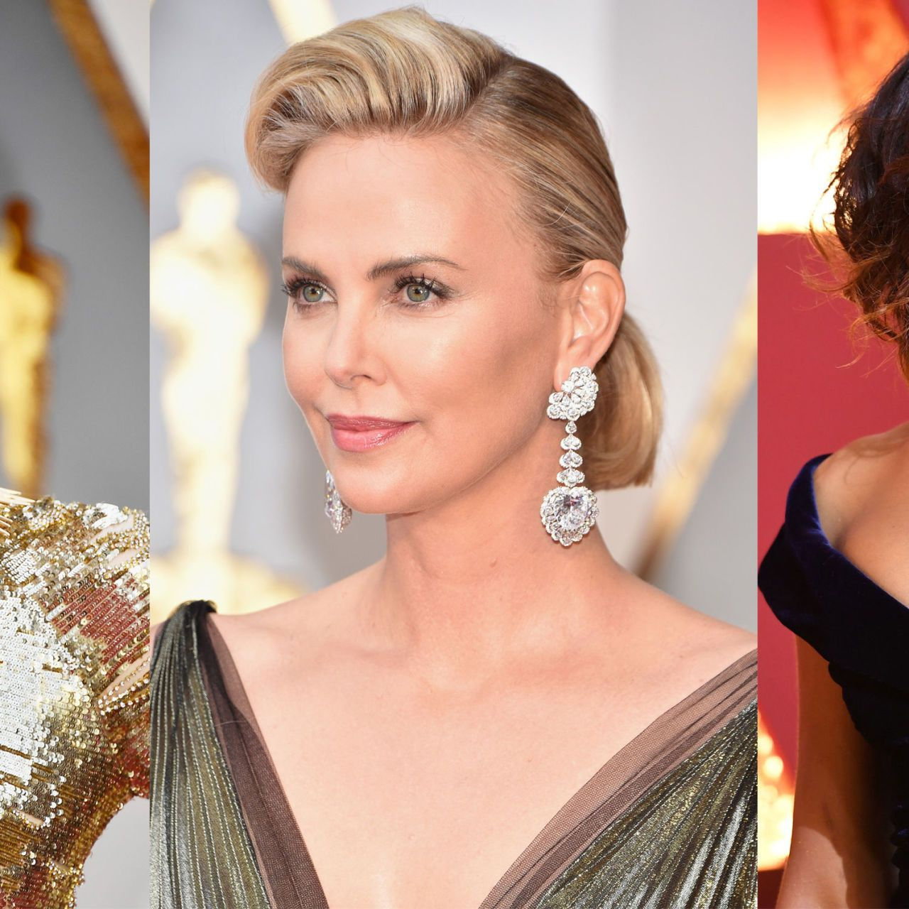 Best Jewelry From the Oscars Red Carpet 2017 Earrings Necklaces