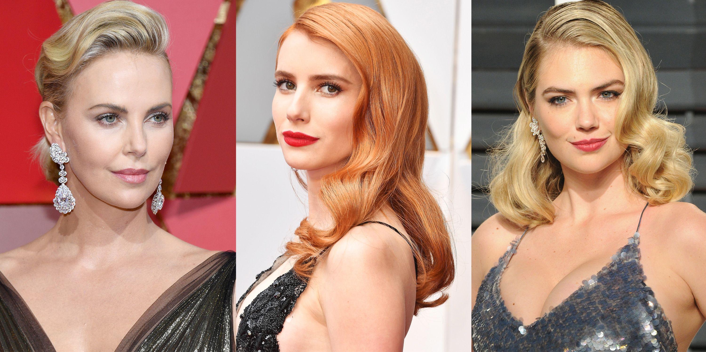 11 Best Finger Waves From The 2017 Oscars How To Do Finger Waves For Short Hair