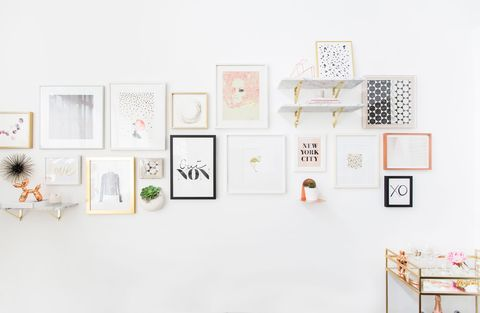 Product, Wall, Interior design, Room, Design, Furniture, Font, Picture frame, Illustration, Collection,
