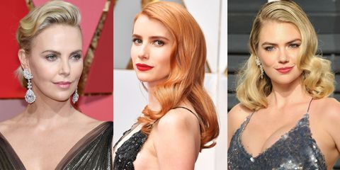 11 Best Finger Waves From The 2017 Oscars How To Do Finger
