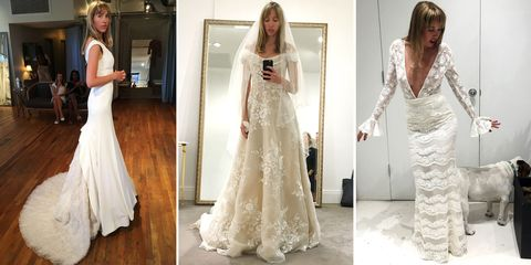 152809fa98e Finding Your Dream Wedding Dress - I Tried on 80 Bridal Gowns to ...