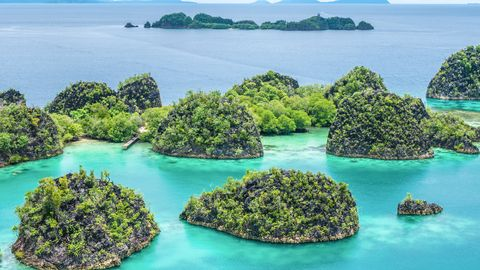 "<p>""<a href=""http://go.spot.com/2IAl/OHUMgcWpNA"">Raja Ampat</a> is a series of islands in the remote western region of Indonesia. They require a bit of work to get to — a couple buses, two flights, and two boat rides — but they're well worth the long journey! The diving is amazing—Raja Ampat has the most pristine underwater marine life I've ever seen. But even if you don't dive, all the island piers have the most stunning coral reefs right under the dock! Visit Arborek village for top-notch snorkeling, Sawinggrai village to feed the fish, or hike Pianemo for a view out over islands that create the shape of a star."" —<em data-redactor-tag=""em"">Sher, photographer and editor behind </em><em data-redactor-tag=""em""><a href=""http://www.shershegoes.com/"">Sher She Goes</a></em></p><p><span class=""redactor-invisible-space"" data-verified=""redactor"" data-redactor-tag=""span"" data-redactor-class=""redactor-invisible-space""></span></p>"