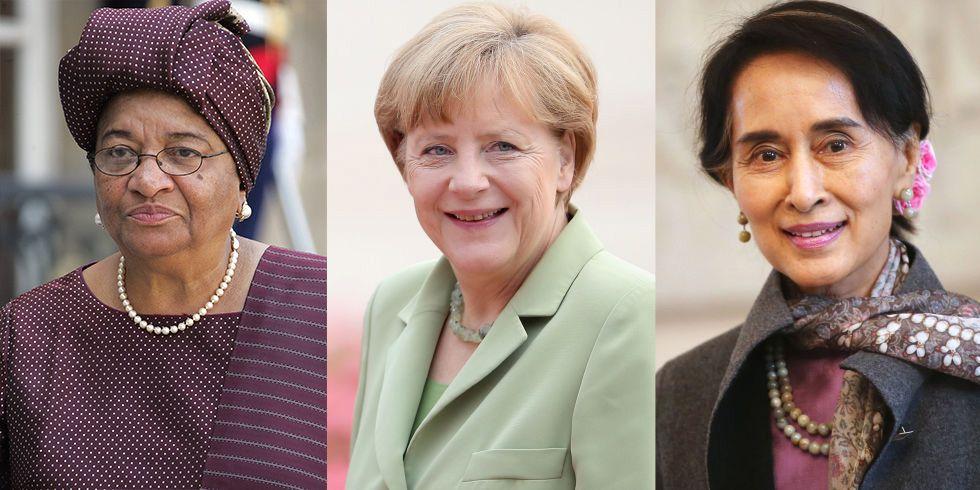 20 Female World Leaders - Women Politicians and Female World