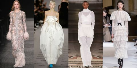 dd610f56e465 The Best Bridal Looks from Fall 2017 RTW - All the Fall 2017 Bridal ...