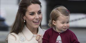 Kate Middleton and Princess Charlotte | ELLE UK