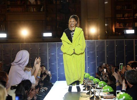de866b82934c Rihanna Fenty Puma Fenty University Show Paris Fashion Week Fall ...