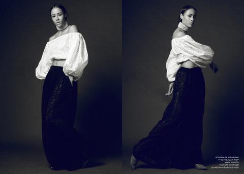 Sleeve, Shoulder, Textile, Formal wear, Style, Fashion, Waist, Fashion model, Gown, One-piece garment,