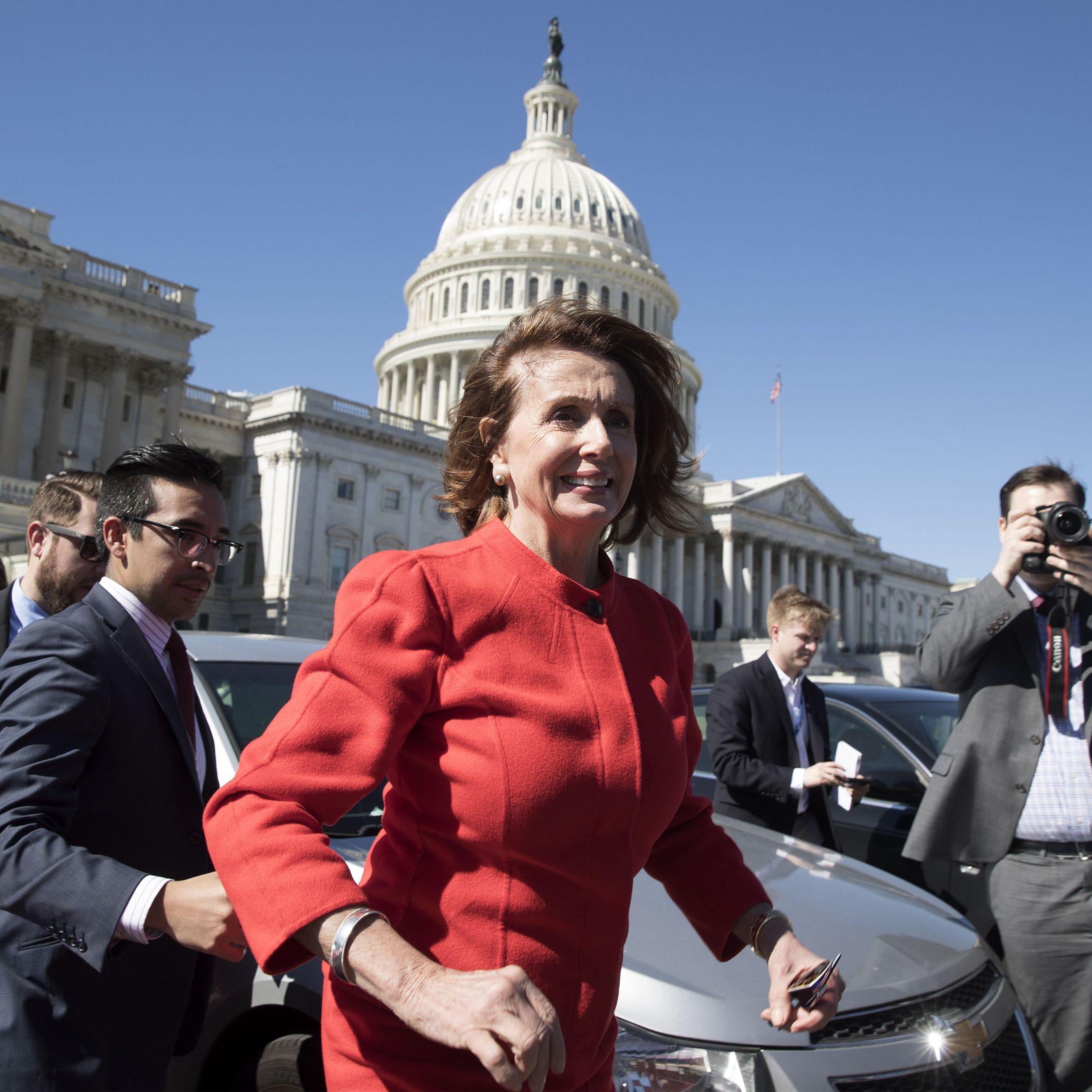 <p>Nancy Pelosi</p>