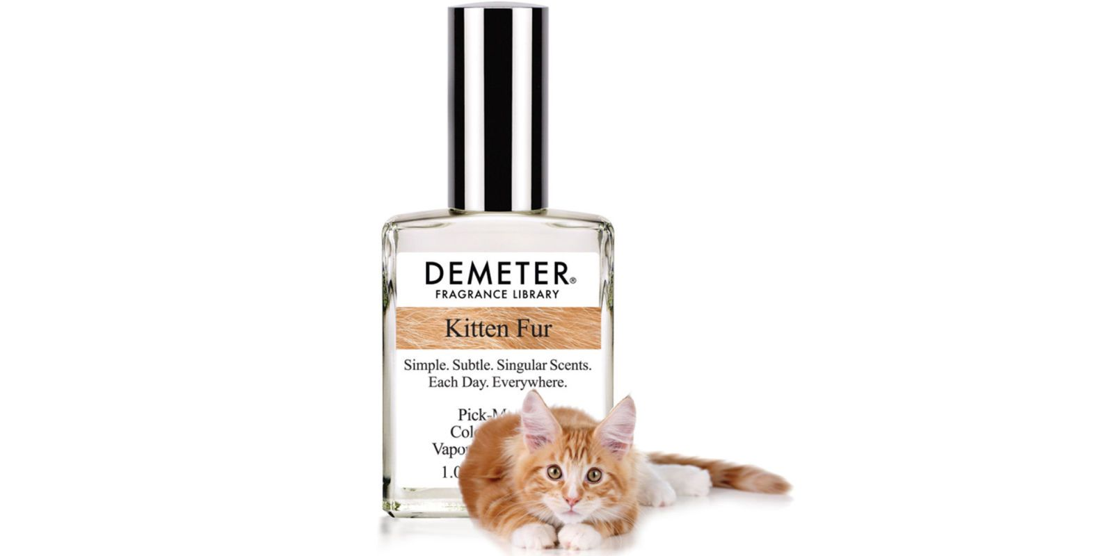 There's Now A Perfume That Smells Like Kitten Fur