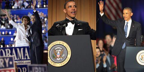 Speech, Event, Formal wear, Suit, Uniform, Gesture, Official, Public speaking,