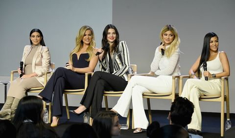 Kim, Khloe, Kendall, Kylie and Kourtney