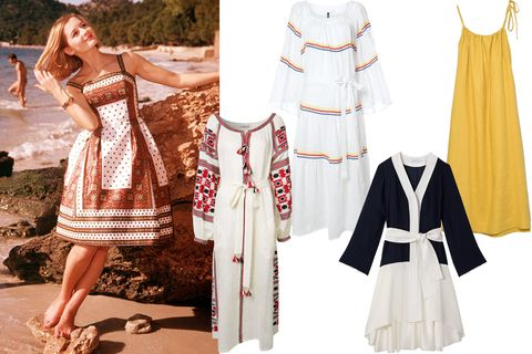 "<p>You can never pack too many breezy beach dresses. </p><p><em data-verified=""redactor"" data-redactor-tag=""em"">Vita Kin dress,&nbsp;<em data-redactor-tag=""em"">$1,998, <a href=""https://shop.harpersbazaar.com/designers/vita-kin/multi-native-stylised-dress-12144.html"" data-tracking-id=""recirc-text-link"">ShopBAZAAR.com</a>;&nbsp;</em><span class=""redactor-invisible-space"">Lisa Marie Fernandez dress, <em data-redactor-tag=""em"">$1,025, <a href=""https://shop.harpersbazaar.com/designers/lisa-marie-fernandez/white-peasant-maxi-dress-12502.html"" data-tracking-id=""recirc-text-link"">ShopBAZAAR.com</a>;&nbsp;</em><span class=""redactor-invisible-space"">Kimora Lee Simmons dress,&nbsp;<em data-redactor-tag=""em"">$995, <a href=""https://shop.harpersbazaar.com/designers/kimora-lee-simmons/the-honey-dress-12379.html"" data-tracking-id=""recirc-text-link"">ShopBAZAAR.com</a>;&nbsp;</em><span class=""redactor-invisible-space""></span></span>Sea dress,&nbsp;<em data-redactor-tag=""em"">$395, <a href=""https://shop.harpersbazaar.com/designers/sea/yellow-spaghetti-tent-dress-12580.html"" data-tracking-id=""recirc-text-link"">ShopBAZAAR.com</a>.&nbsp;</em></span></em><br></p>"