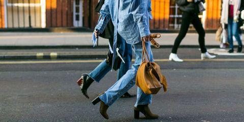 Street fashion, Pedestrian, Jeans,