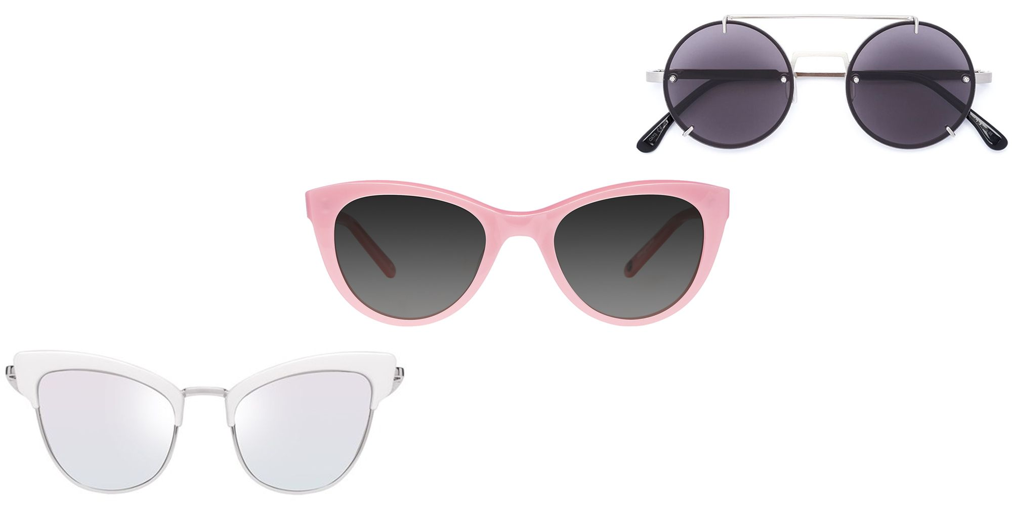 "<p>You're going to need some good shades–and we don't tend to leave home without our favorite pairs. Yes, pairs. One option never seems to feel like enough when there are so many good options out there; and you'll likely want one for work, one for your day out hitting the shops, and another should you choose to hit the beach.</p><p><em data-redactor-tag=""em"" data-verified=""redactor"">From left: Le Specs ""Ashanti"" sunglasses, $119, <a href=""https://lespecs.com/ashanti-1702105-matte-quartz-diamond-mirror-lsl1702105"" target=""_blank"" data-tracking-id=""recirc-text-link"">lespecs.com</a>; Garrett Leight x Clare V. sunglasses, $340, <a href=""http://www.garrettleight.com/sunglasses/clare-v/?130=502&131=380"" target=""_blank"" data-tracking-id=""recirc-text-link"">garrettleight.com</a>; Vera Wang round frame sunglasses, $405, <a href=""https://www.farfetch.com/shopping/women/vera-wang-round-frame-sunglasses-item-11638216.aspx?storeid=9871&from=1&rnkdmnly=1&ffref=lp_pic_74_11_"" target=""_blank"" data-tracking-id=""recirc-text-link"">farfetch.com</a>.</em></p>"