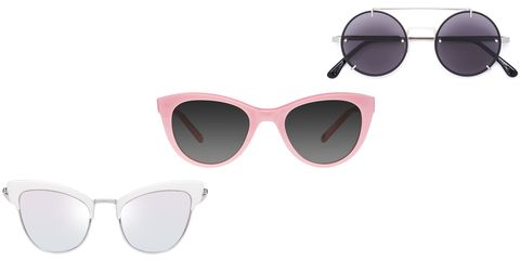 """<p>You're going to need some good shades–and we don't tend to leave home without our favorite pairs. Yes, pairs. One option never seems to feel like enough when there are so many good options out there; and you'll likely want one for work, one for your day out hitting the shops, and another should you choose to hit the beach.</p><p><em data-redactor-tag=""""em"""" data-verified=""""redactor"""">From left: Le Specs """"Ashanti"""" sunglasses, $119, <a href=""""https://lespecs.com/ashanti-1702105-matte-quartz-diamond-mirror-lsl1702105"""" target=""""_blank"""" data-tracking-id=""""recirc-text-link"""">lespecs.com</a>; Garrett Leight x Clare V. sunglasses, $340, <a href=""""http://www.garrettleight.com/sunglasses/clare-v/?130=502&amp;131=380"""" target=""""_blank"""" data-tracking-id=""""recirc-text-link"""">garrettleight.com</a>; Vera Wang round frame sunglasses, $405, <a href=""""https://www.farfetch.com/shopping/women/vera-wang-round-frame-sunglasses-item-11638216.aspx?storeid=9871&amp;from=1&amp;rnkdmnly=1&amp;ffref=lp_pic_74_11_"""" target=""""_blank"""" data-tracking-id=""""recirc-text-link"""">farfetch.com</a>.</em></p>"""