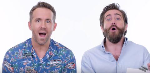 Ryan Reynolds & Jake Gyllenhaal