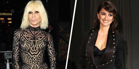 Penelope Cruz To Play Donatella Versace In American Crime