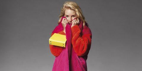 Lottie Moss In Spring Fashion - Lottie Moss Photoshoot Shot