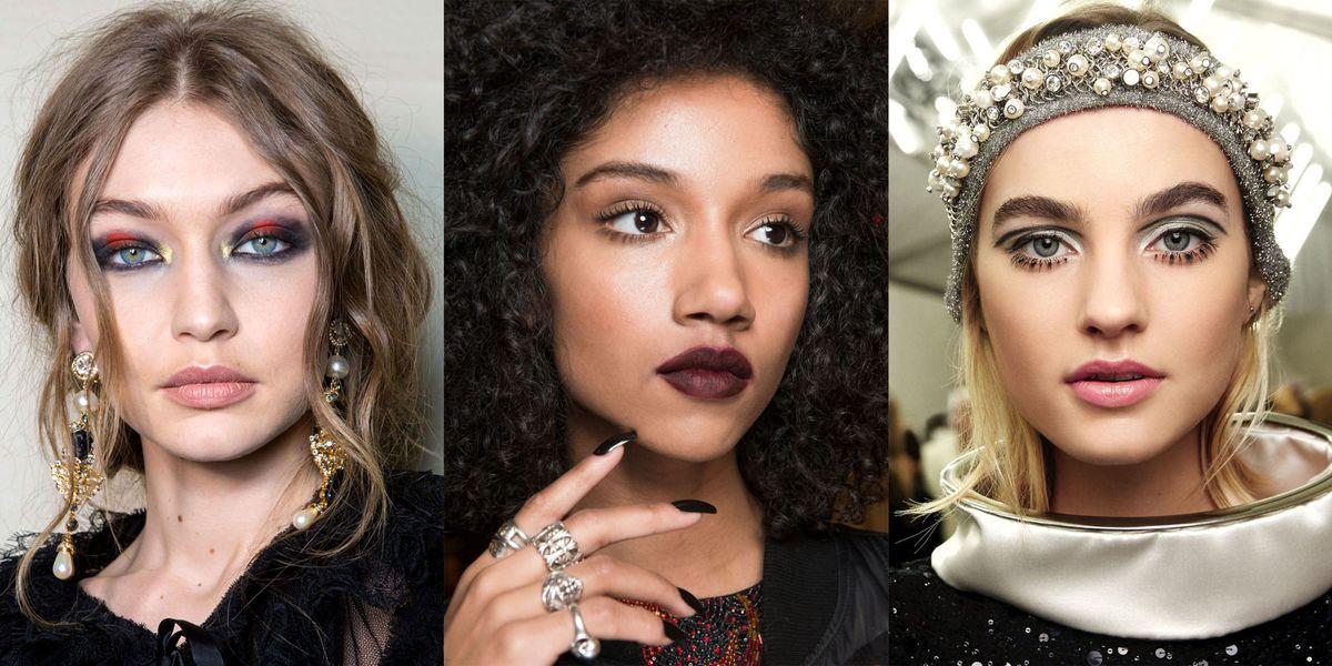 Fall 2017 Makeup Trends - Fall 2017 Runway Makeup Ideas